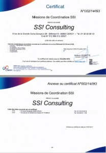 Certificat CSSI-I93